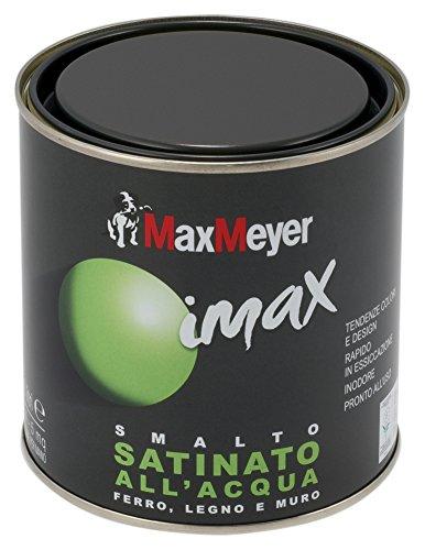 Max Mayer acryl-nagellak, waterklaar, zijdemat, 500 ml, inhoud 3,5-5,5 m2, Venetiaanrood