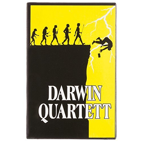 GOODS+GADGETS Darwin Awards Quartett - Das Charles Darwin Award Kartenspiel - für einen reinen Genpool