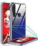 LeYi Funda Motorola Moto G8 Plus con [2-Unidades] Cristal Vidrio...