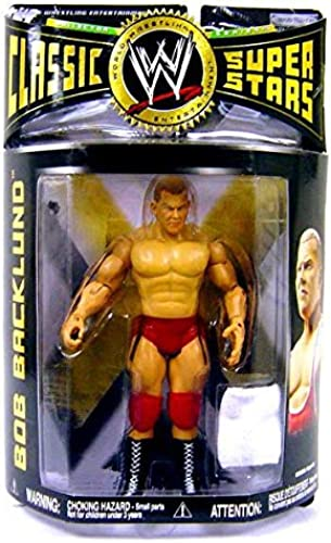 BOB BACKLUND - WWE Wrestling Classic Superstars Series 14 Action Figure by Jakks by Classic Superstars