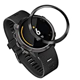 Shan-S for Garmin Forerunner 645 Scale Watch Loop,Sport Anti Scratch Stainless Steel Smart Watch Ring Adhesive Cover Anti Scratch & Collision Protector for Garmin Forerunner 645