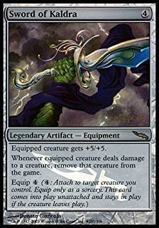 Magic: the Gathering - Sword of Kaldra - Prerelease & Release Promos - Foil
