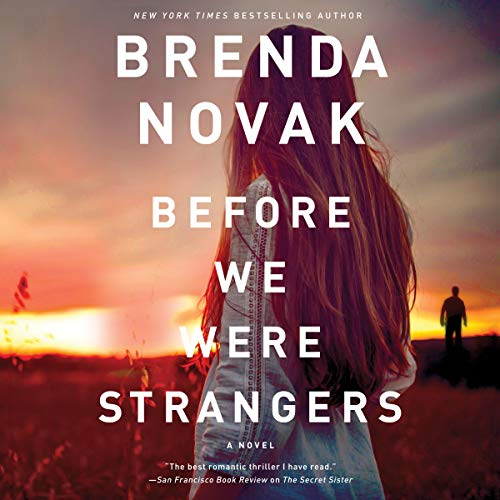 Before We Were Strangers audiobook cover art