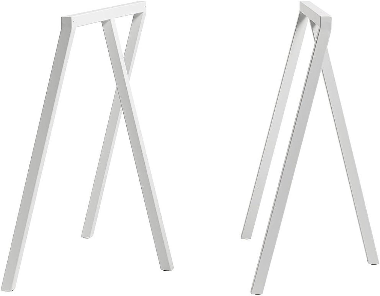 venta con descuento Hay - Hay dk dk dk lopp stand frame heno loop pedestal lazo mesa soporte marco blancoo (2 piezas)  moda clasica