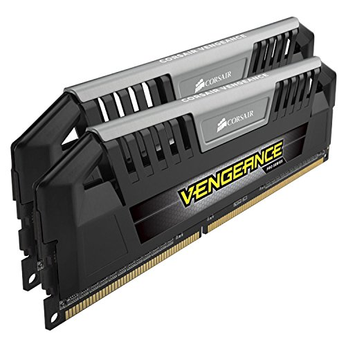 Corsair CMY16GX3M2A1600C9 Vengeance Pro Series 16GB (2x8GB) DDR3 1600 MHZ (PC3 12800) Desktop Memory 1.5V,Black