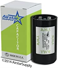 53 - 64 uF x 330 VAC - Dayton Grainger 2MEL2 Start Capacitor - BMI Replacement # 092A053B330BD4A - Made in the USA