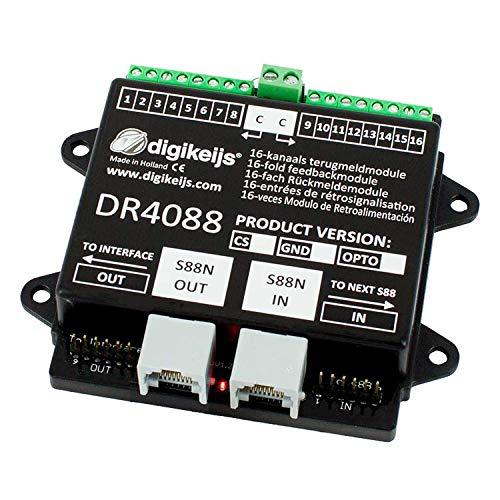 Digikeijs DR4088CS (2 Leiter) 16-Kanal Rückmeldemodul S88N