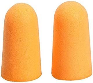 Jenny.Ben 5 Pairs of Foam Anti Noise earplugs Ear Protectors Sleep soundproof earplugs Workplace Safety Supplies Orange