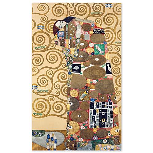 JUNIWORDS Poster, Gustav Klimt, Die Erfüllung, 60 x 99 cm