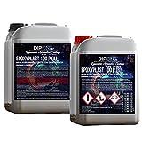 3 KG Epoxidharz 2K EpoxyPlast 100P Holz Glasklar Laminierharz Gießharz Epoxy für GFK Tisch Boden Terra Aquarium Formenbau UV Stabil