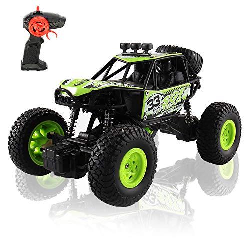 Arkmiido Ferngesteuertes Auto, RC Auto Off-Road, 4x4 RC Crawler Autospielzeug für 6-12 jährige Kinder, 1: 20 4WD Offroad Truck für Jungen Mädchen.