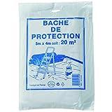 Savy 4213000 Bâche de protection 4mx5m polypropylène, Non Concerné