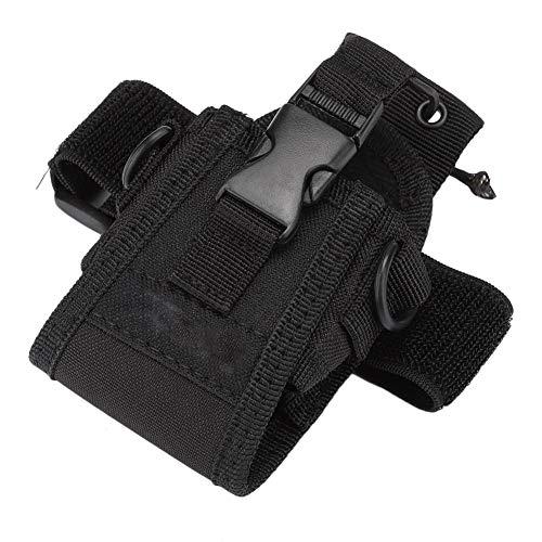 Walkie Talkie Carry Pouch Arm Pack Bag Baofeng UV-5R UV-5RA UV-82 UV-B5, Estuche de Radio Estuche de Dos vías