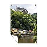 Outdoor poster Schlösser in Luxemburg - Schloss auf einem