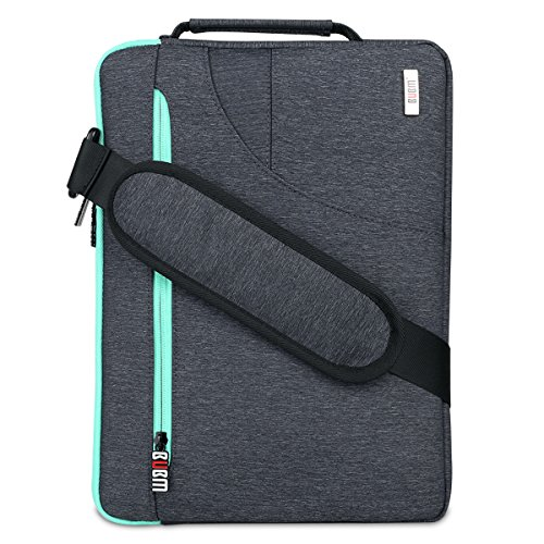 BUBM Travel 13.3 inch Laptop Shoulder Bag Compatible For 12inch New MacBook Pro Retina Air 12.9 inch iPad Pro Chromebook Notebook HP ACER ASUS DELL Lenovo