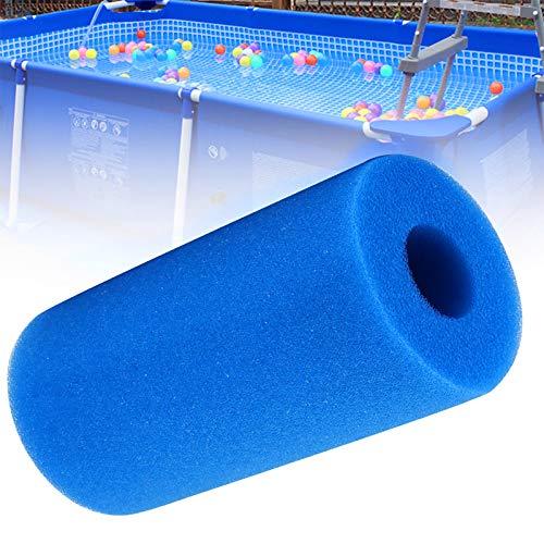 LZH FILTER 2 Paquetes de Espuma de Filtro de Piscina Reutilizable, Esponja de Filtro de Piscina, Esponja de Filtro de Piscina Lavable, Esponja limpiadora, Cartucho Adecuado para el Tipo A