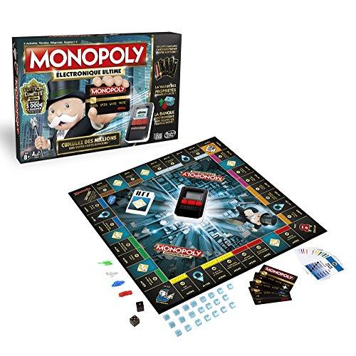 Hasbro–b6677–Brettspiel–Monopoly Ultimate Banking