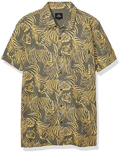 Rip Curl El Tigre - Camisa de manga corta para hombre - Verd