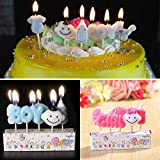PACK INCLUDES: 5 Baby Shower Candles of cute different shapes SIZE: 7.5 cm each; non-toxic safe paraffin wax FEATURE: Top your cakes and cupcakes with unicorns' magic. Great for B-day parties, baby showers, Welcome baby EASY TO INSERT AND TO LIGHT – ...