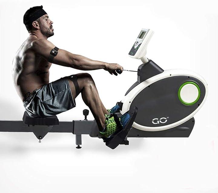 Vogatore professionale casa, controllo magnetico pieghevole mute indoor perdita di peso macchina fitness l.tsa B07VW8TNNY