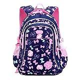 zaino per ragazze,borse da scuola per bambini per studenti primari lovely bow-knot zaini per bambini borsa da viaggio
