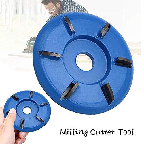 Houten turbo snijwerk schijfgereedschap, houtbewerking voor haakse slijper, houtsnijschijf voor snijden, snijden en vormen