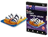 NEW Cubic Fun S3001h 30 piezas Mini Sydney Opera House de papel 3D Jigsaw Puzzle