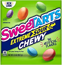 SweeTARTS Extreme Chewy Sours Peg Bag, 3.5 Ounce (Pack of 12)
