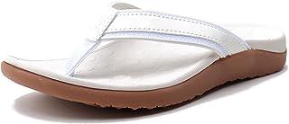 CELANDA Flip Flops Women's Summer Yoga Mat Orthopaedic Sandals Toe Separator Soft Lightweight Bath Slippers Women Non-Slip...