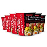Snapdragon Spicy Tonkotsu Ramen Cups | Rich Pork Flavor Broth With Authentic Ramen Noodles and Chili...