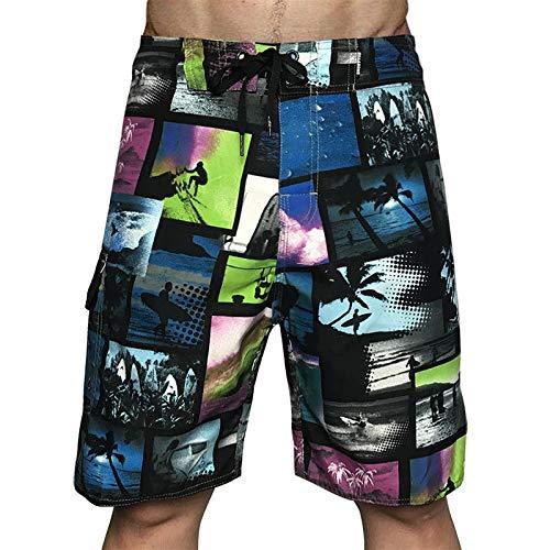 LINSID Trajes de baño para Hombres Shorts de baño Trunks Shorts de Playa Pantalones de baño Trajes de baño Pantalones Cortos para Correr Deportivos para Hombres