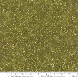 Classic Marble Swirls, Avocado Green, a Beautiful Blender, Moda, 9908-92, by The Yard