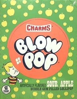 Charms Blow Pop Sour Apple 48CT