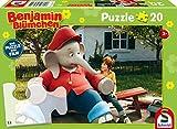 Schmidt Spiele Puzzle per bambini, motivo: fiori di Benjamin, Multicolore, 56275