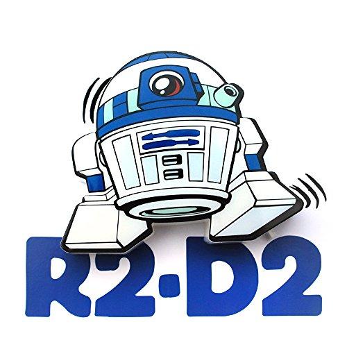 3D Light FX Star Wars R2-D2 3D Deco Mini-Sized LED Wall Light