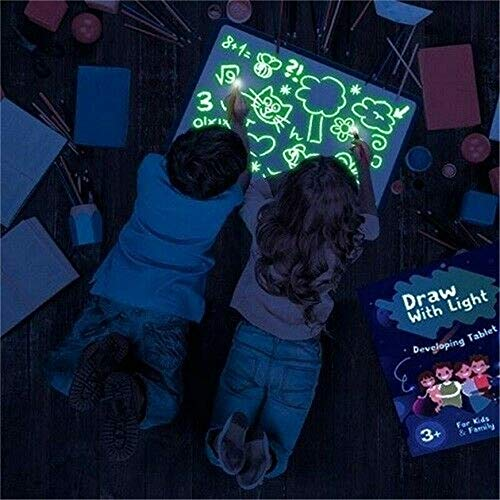 Draw with Light Fun and Developing Toy Tablero dibujo