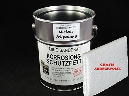 Mike Sanders Korrosionsschutzfett 4 kg (weiche Mischung) Plus Abdeckplane GRATIS!!!
