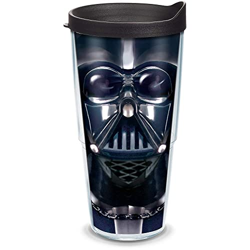 0b7ee1f6106 Tervis 1141874 Star Wars - Darth Vader Tumbler with Wrap and Black Lid  24oz, Clear