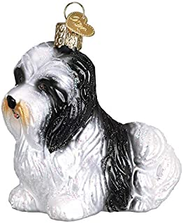 Old World Christmas 12526 Ornament, Havanese
