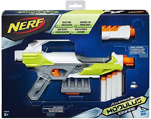 Personalizza il tuo blaster! Canna removibile e porta dardi Blaster con 4 dardi Modulus Ionfire!