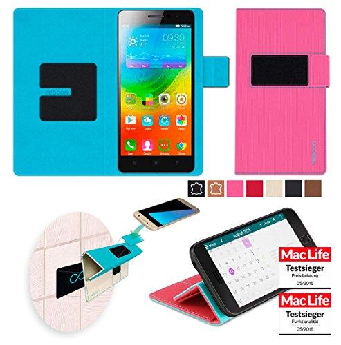 Hülle für Lenovo A7000 Plus Tasche Cover Hülle Bumper   Pink   Testsieger