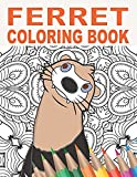 Ferret Coloring Book: 30 Patterns to Color for Stress Relief and Relaxing for Pet Owners and Lovers of Ferret