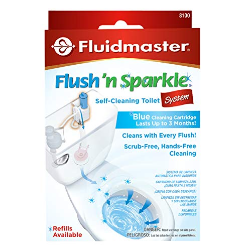 Fluidmaster 8100 Flush 'n Sparkle Automatic Toilet Bowl Cleaning System
