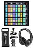 Novation Launchpad Mini MK3 MKIII MIDI USB Pad Controller+Mic+Headphones