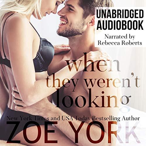 When They Weren't Looking audiobook cover art