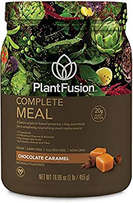PlantFusion Complete Meal Plant Based Protein Powder, Gluten Free, Vegan, Non-GMO, Packing May Vary