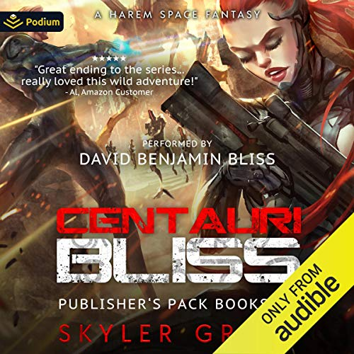 Centauri Bliss: Publisher's Pack 3 cover art