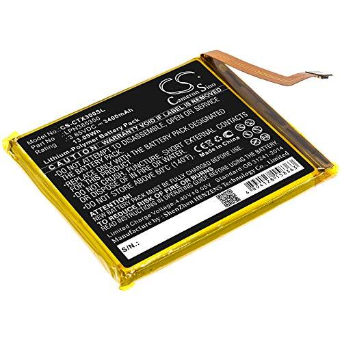 TECHTEK batteria sostituisce LPN385350 compatibile con [CROSSCALL] Action X3, Action-X3, Core X3, Core-X3, Trekker X3