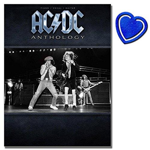 AC/DC Anthology - Songbook für Klavier, Gesang, Gitarre - Das Basisbuch für die Band - mit bunter herzförmiger Notenklammer - [Noten/sheet music]