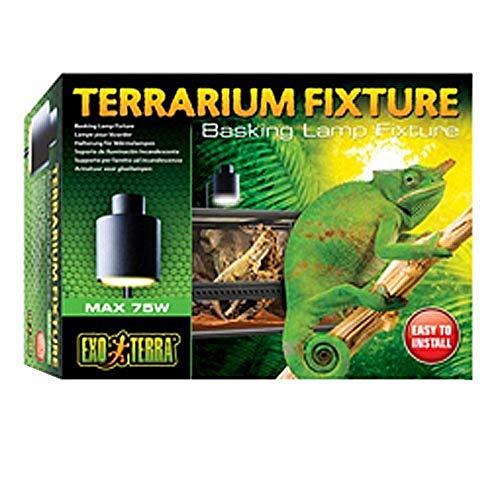 Exo Terra PT2240 lamphouder, zwart